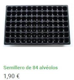 Semillero 84 alvéolos